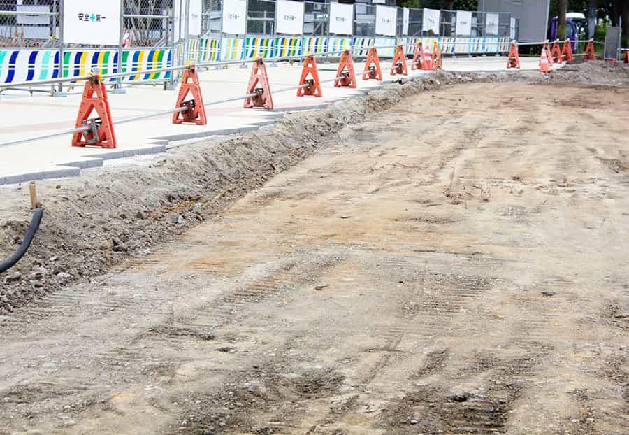 道路建設工事